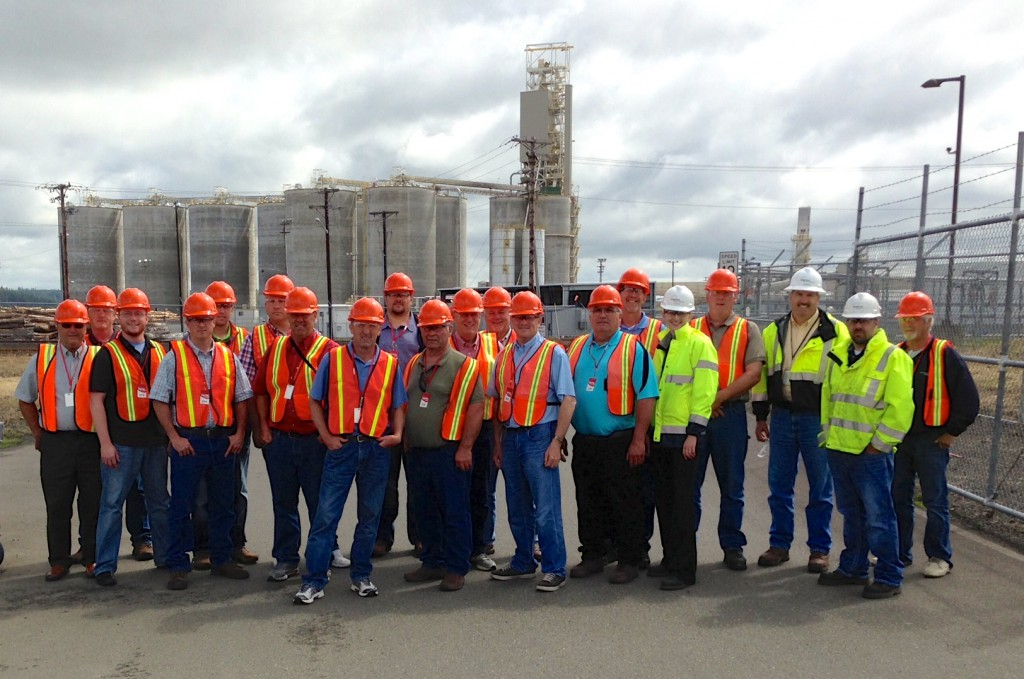 The SD group at the AGP Facility.