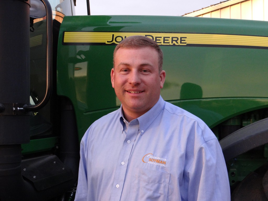 Craig Converse, farmer from Brookings, was South Dakota's DuPont Young Leader this past year. Converse encourages any soybean farmer who is interested in developing his or her leadership skills to apply for the program.